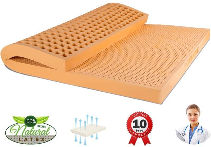 Giới thiệu về các loại nệm cao su phổ biến trên thị trường