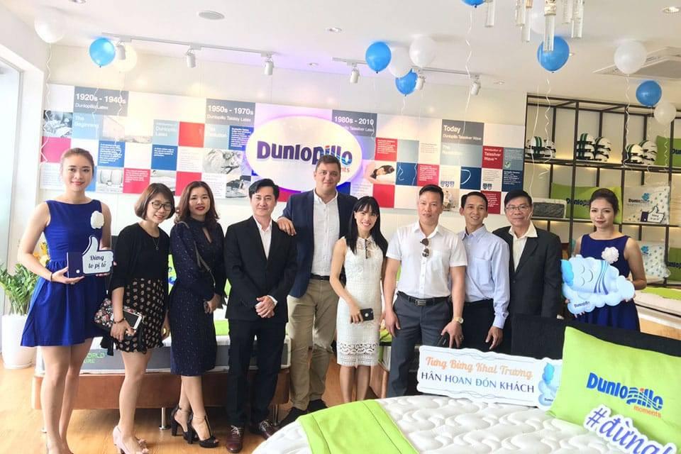 Đại lý chính hãng đệm lò xo dunlopillo tại Việt Nam