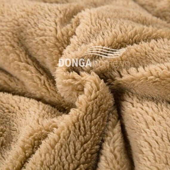 Chăn lông cừu Kyoryo Vàng 4 2mx2m3