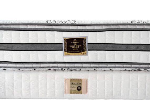 Đệm lò xo Hanvico 4 viền Royal Award 33cm - 21 lớp 6