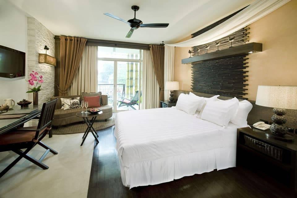 Bộ chăn ga gối dự án khách sạn H3