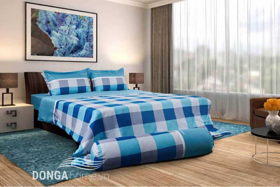 Bộ chăn ga gối Sông Hồng Classic Miền Nam vải Cotton SH_C17 C51