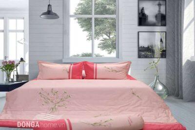 Bộ chăn ga gối sông hồng h18 061 1