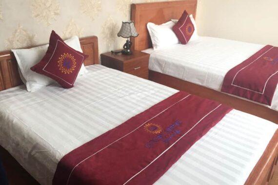 Tấm trang trí dự án khách sạn