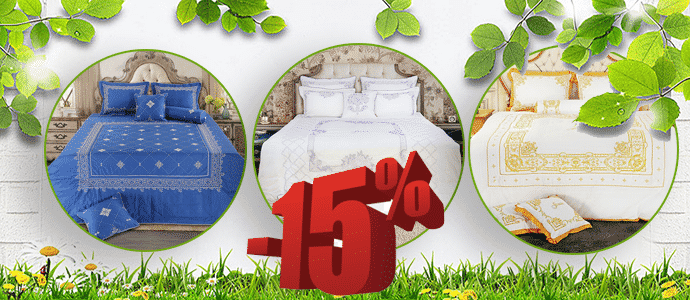 Chăn ga gối Sale 15%