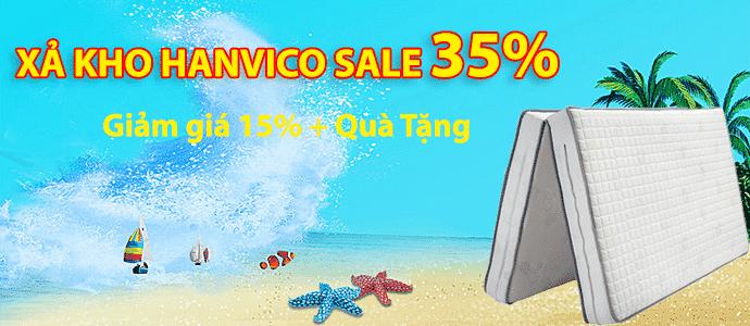 Hanvico xả kho sale 35%