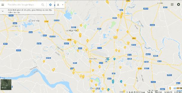 Bản đồ đại lí DongaHome.vn