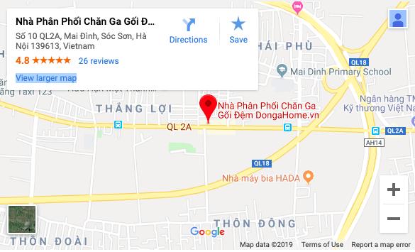 Chỉ đường DongaHOme.vn