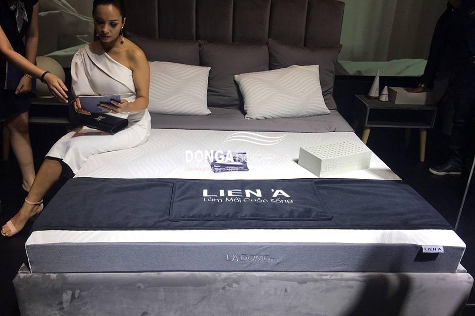 Đệm cao su Liên Á L'A DOME Grey 15cm