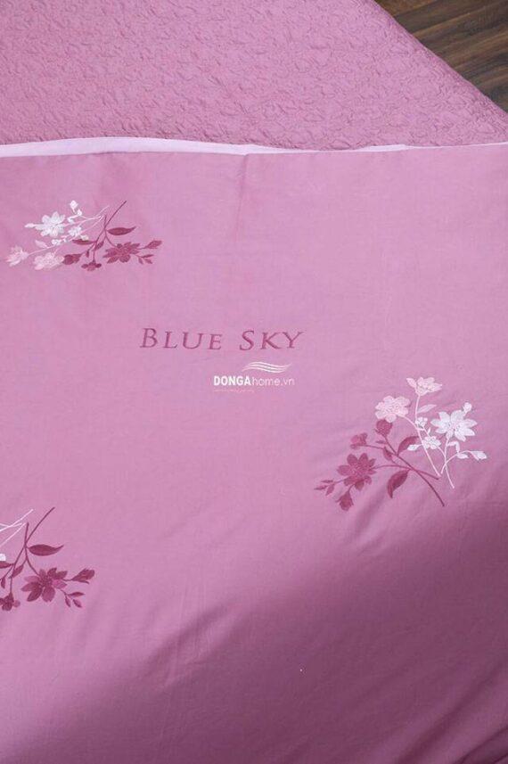 Bộ chăn ga gối Hanvico Blue Sky BS 74