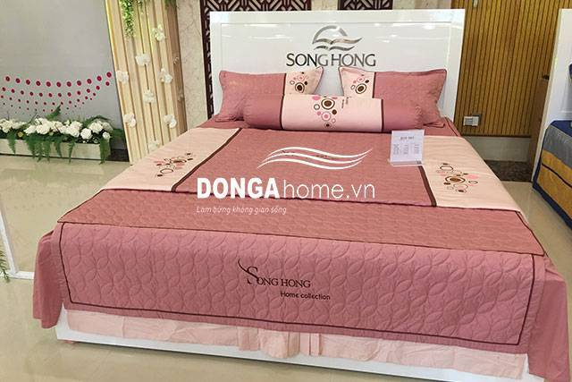Bộ chăn ga gối Home Collection H19 063