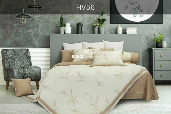 Bộ chăn ga gối Hanvico Blue Sky HV 56