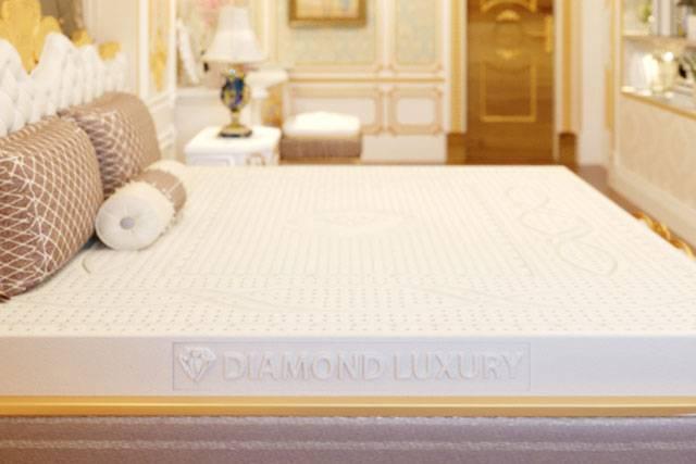 Nệm cao su thiên nhiên xuất khẩu Kim Cương Princess Diamond Luxury
