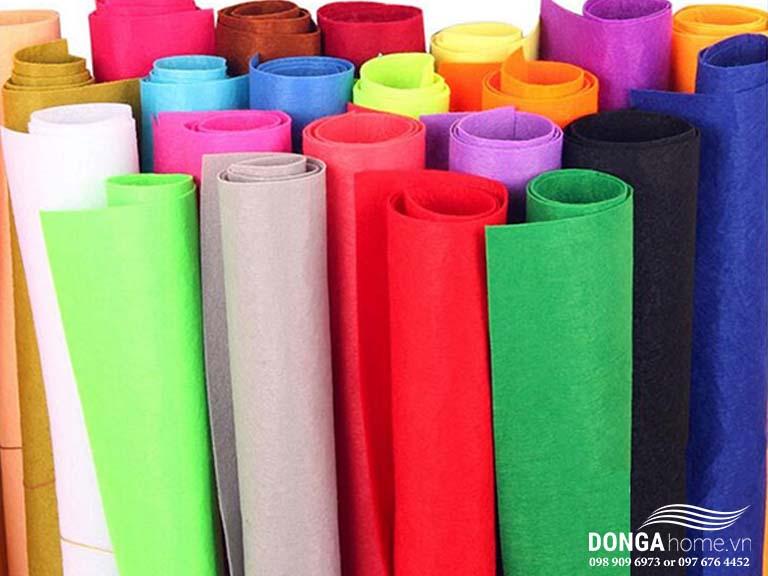 Vải không dệt là vải gì? Ưu nhược điểm và phân loại