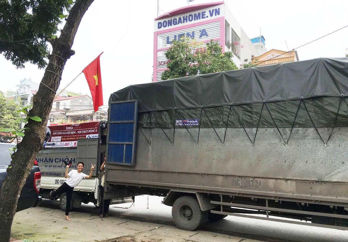 Chính sách vận chuyển chăn ga gối đệm Đông Á - Dongahome.vn