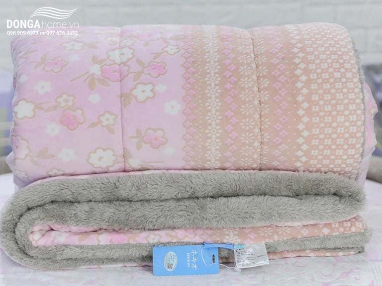 Chăn lông cừu Nekio Dạ Thảo nhập khẩu Nhật Bản chính hãng