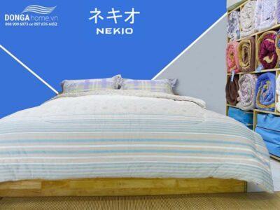 Chăn lông cừu Nekio bông tuyết nhập khẩu Nhật Bản