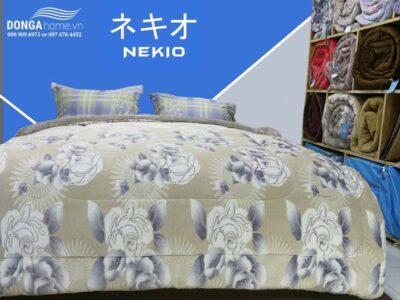 Chăn lông cừu Nekio Hoa Hồng nhập khẩu chính hãng