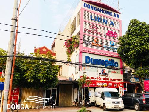 Showroom đệm cao su Liên Á tại nhà phân phối Đông Á - Dongahome.vn