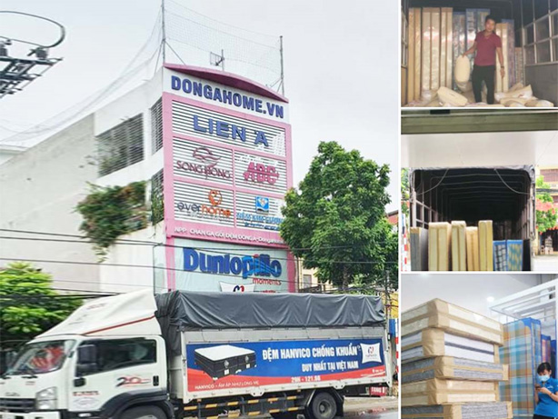Nhập hàng chăn ga gối đệm thương hiệu Hanvico tại nhà phân phối Đông Á - Dongahome.vn