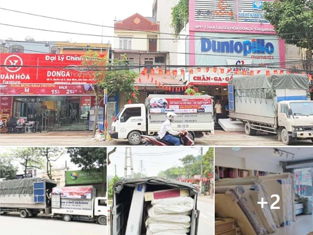 Nhập hàng chăn ga gối đệm Kim Cương tại nhà phân phối Đông Á - Dongahome.vn