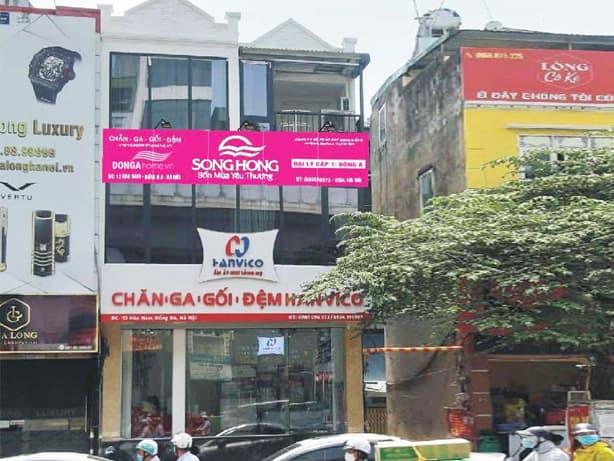 Showroom chăn ga gối đệm Đông Á - DongaHome.vn Hào Nam.