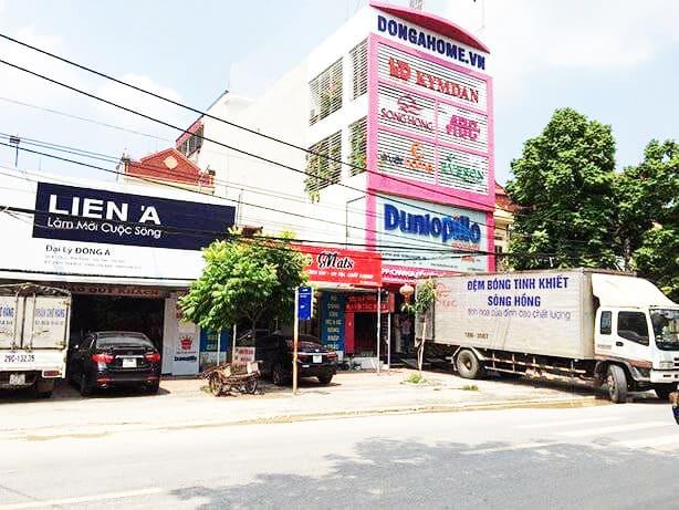 Trụ sở chính nhà phân phối chăn ga gối đệm Đông Á - Dongahome.vn Nội Bài
