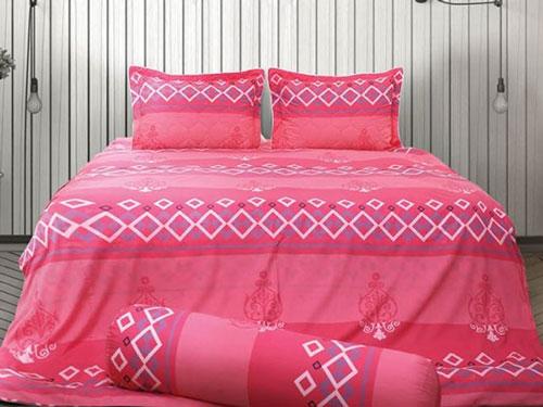 Bộ chăn ga gối sông hồng c18 t18 mang sự sang trọng vào căn phòng